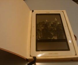DIY agenda book ereader case