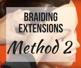 How to Create Individual Braids Method 2