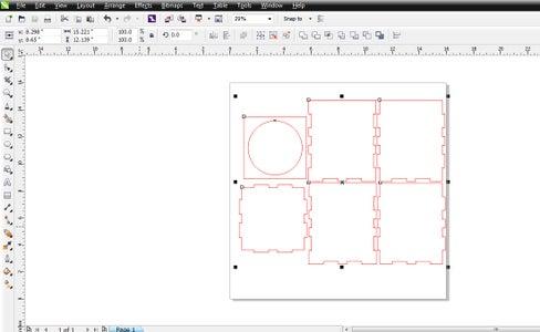 Design in Corel Draw