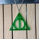 Deathly Hallows Resin Pendant