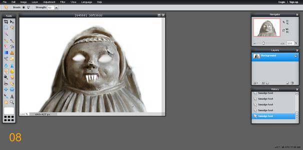 Ghostly Teeth!