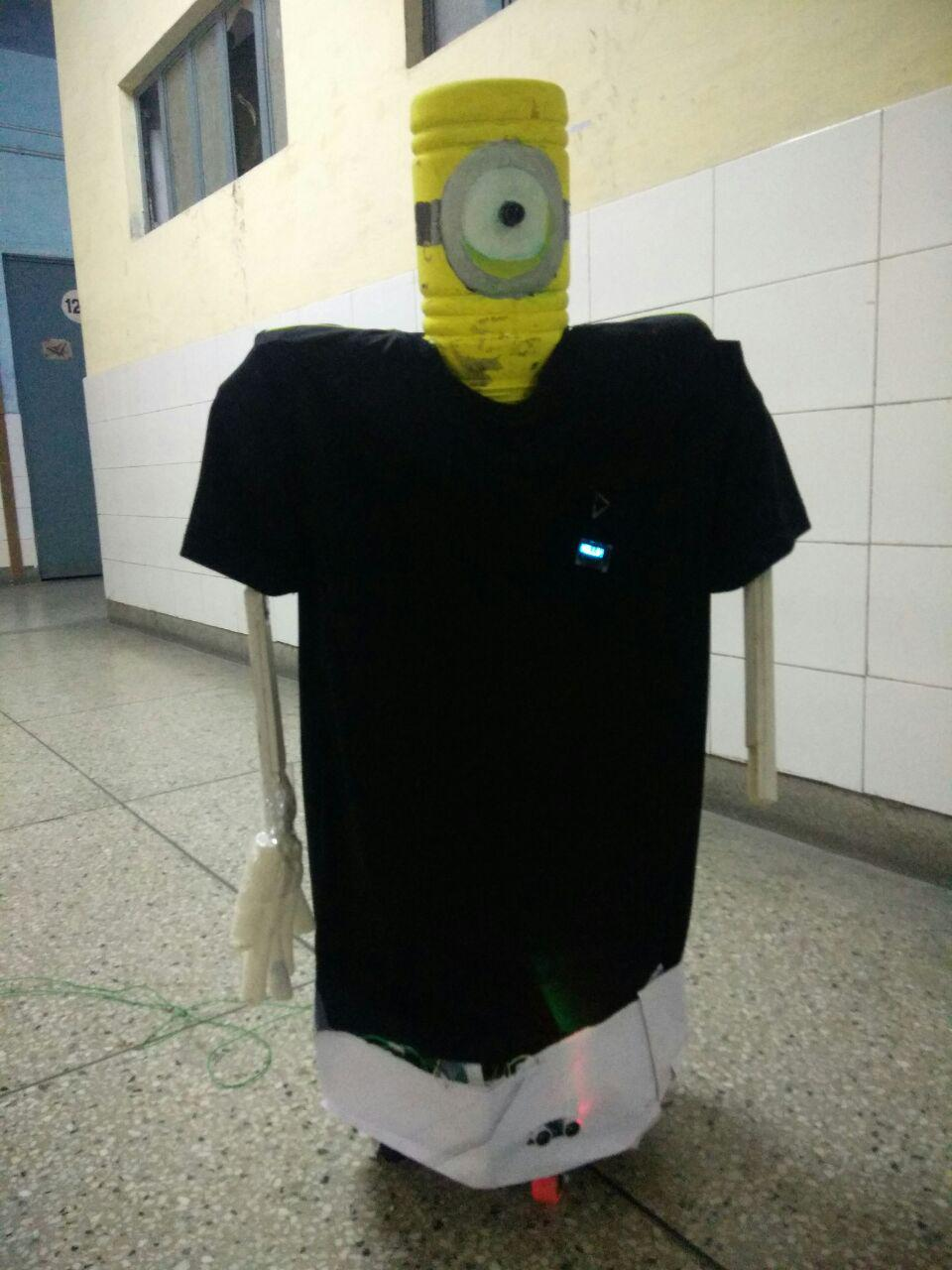 Picture of NAIN 1.0 - the Basic Humanoid Robot Using Arduino
