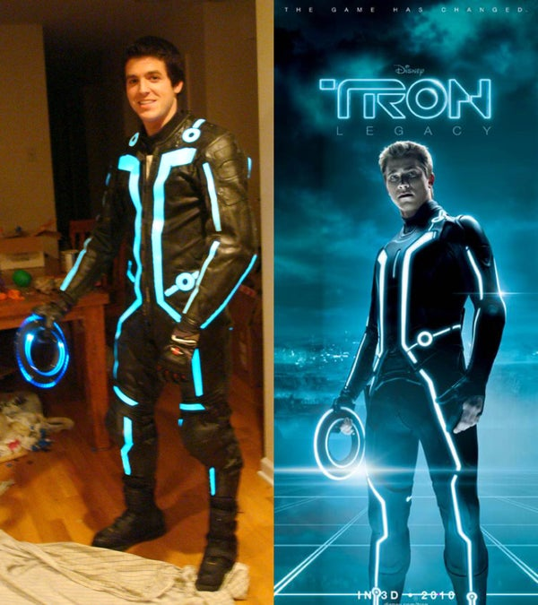Sam Flynn Suit From TRON Legacy