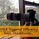 DSLR Triggered Differently | Keys, Headphones…
