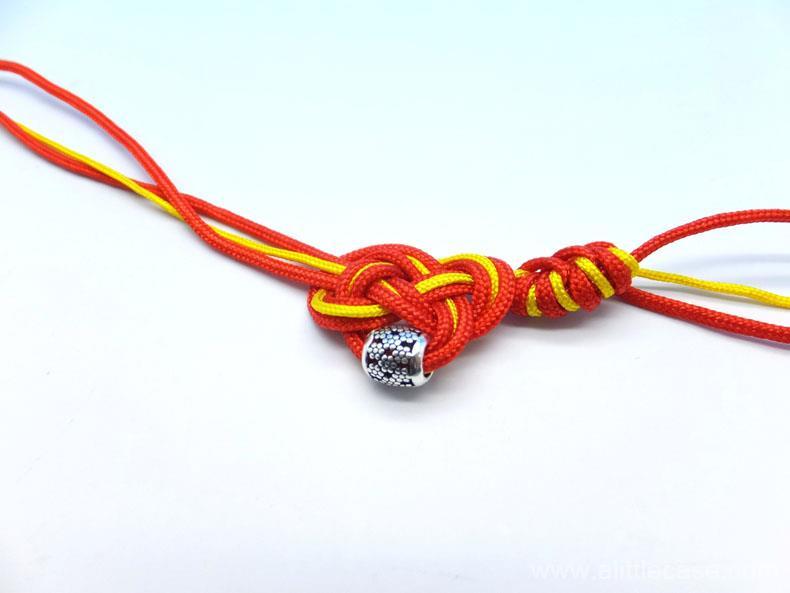 Picture of Braiding Bracelet by Snake Knots.