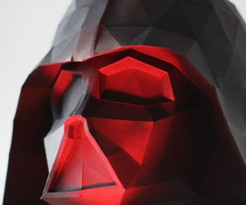 Darth Vader Bust Papercraft