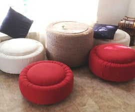 Tire to Ottoman and Table.