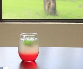 Colorful Virgin Drink