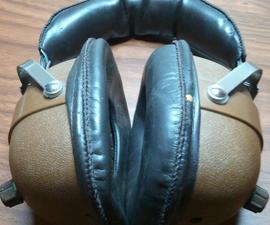 DIY 70's Style Headphone Bluetooth Modification