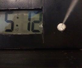 Water Gun Alarm Clock