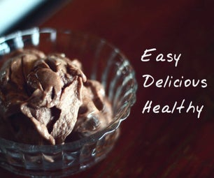 Easy Healthy Choc-Banana Alternative to Ice Cream