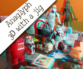 3D photography with a jig