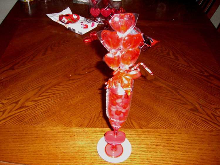 Picture of Cupid Cups - Frugal Gifts for Valentines Day