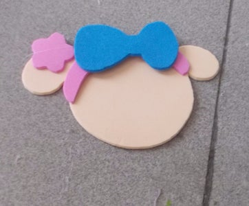 Cut the Bow and Glue It Onto the Headband