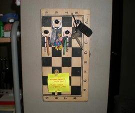 Chess Board Key Holder & Organiser