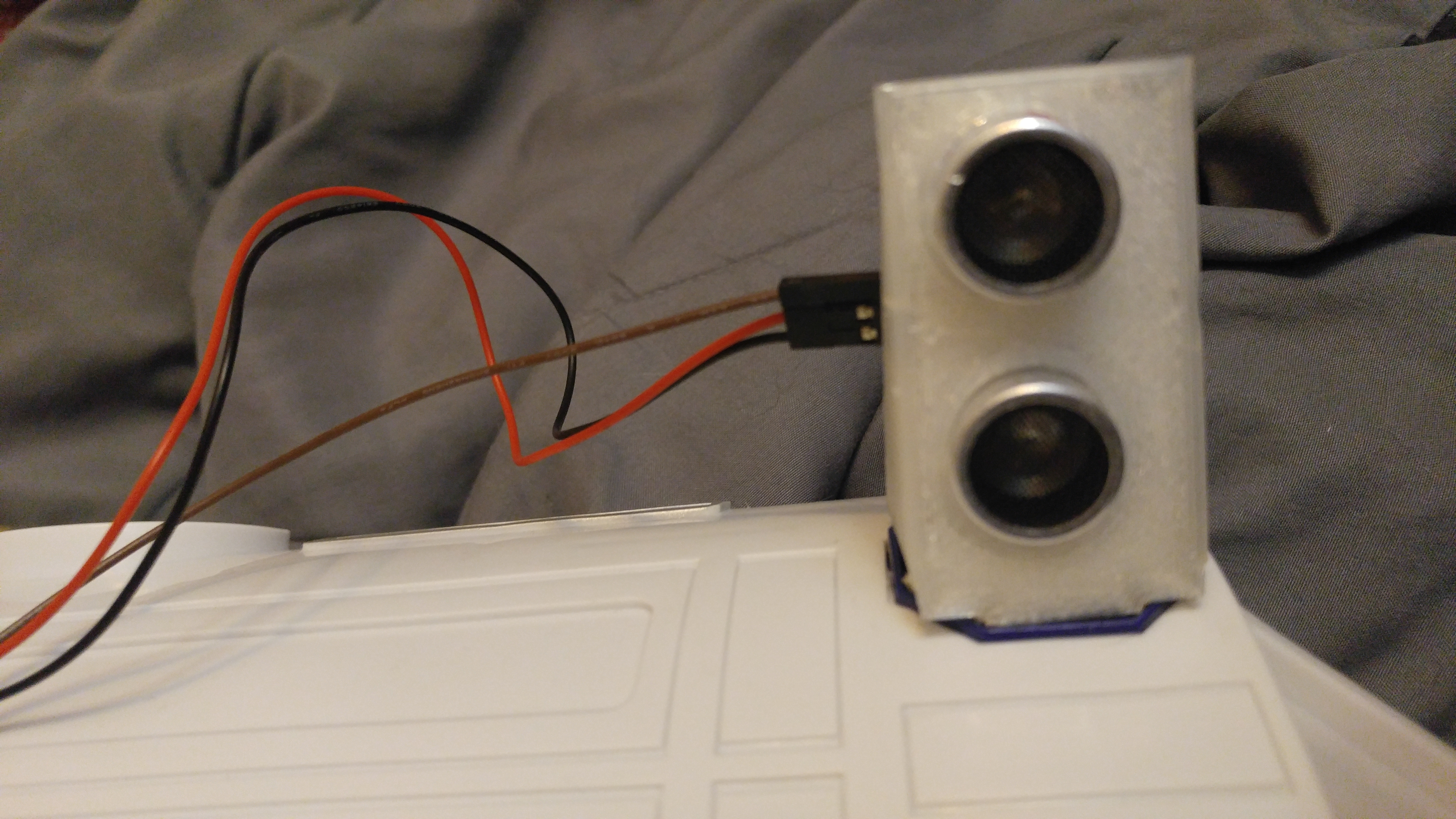 Picture of Ultrasonic Sensor(Optional, But Recommended)