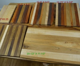 Making Cutting Boards With Cutoffs and Scrap Wood