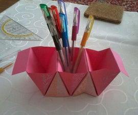 Origami Table-Organizer