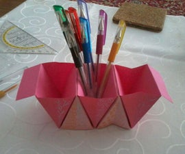 Origami Table-Organizer