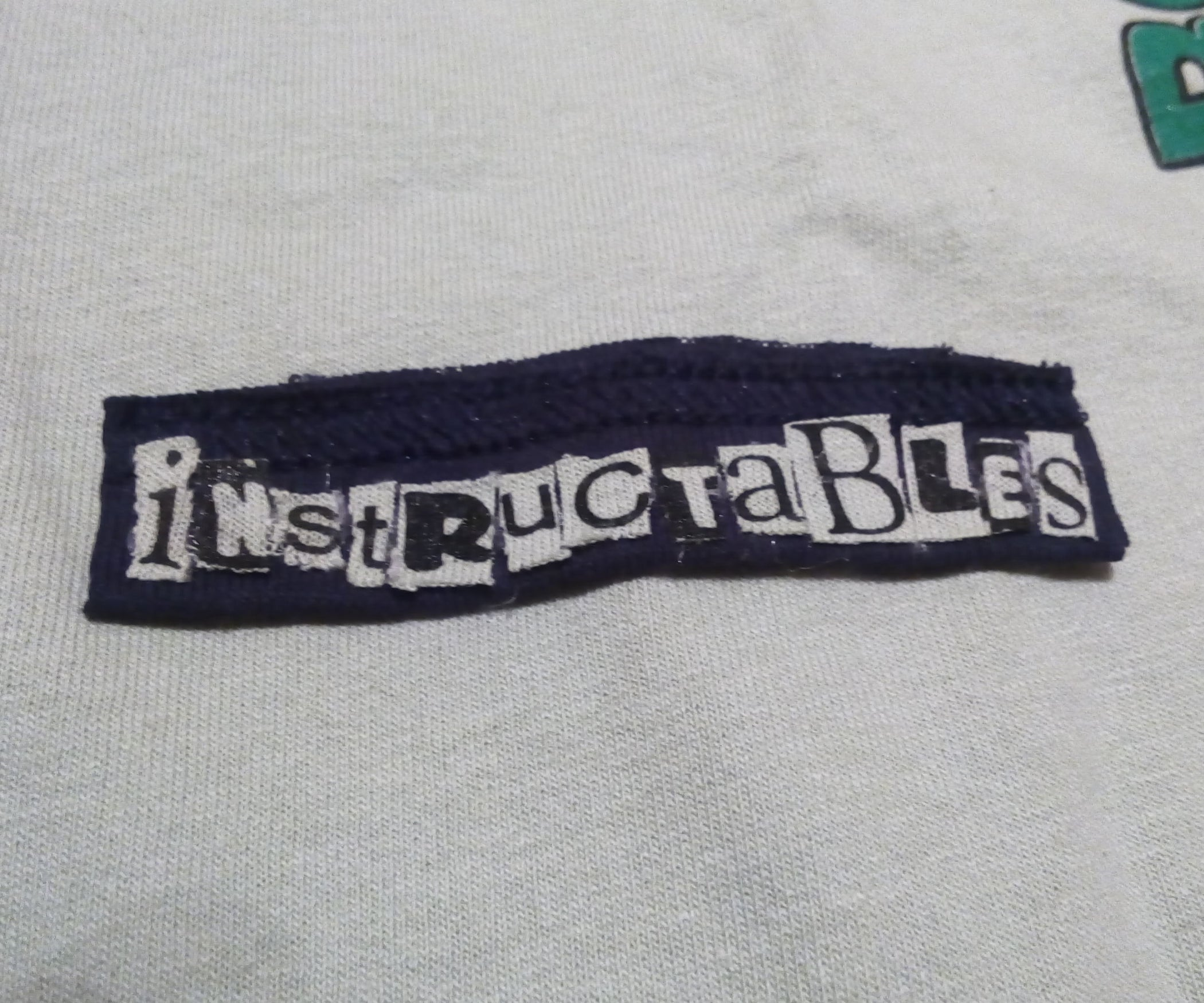 Diy Custom Lettering From Old T Shirts 4 Steps With Pictures