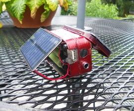 Double Altoids Solar Charger