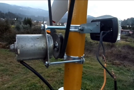 Material Used in the Construction of This Wind Generator: