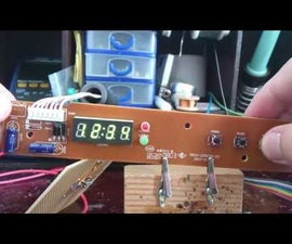 Reuse Electronic Parts - 7 Segment Display Based on PT6964