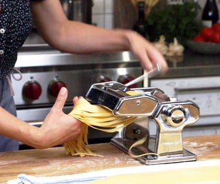 Using a Pasta Machine to Roll & Cut