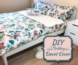 DIY Bedding: Duvet Cover