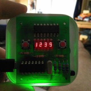 DIY Apple Clock