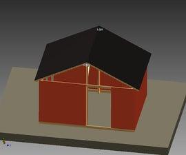 Backyard Blacksmith Shop Shed