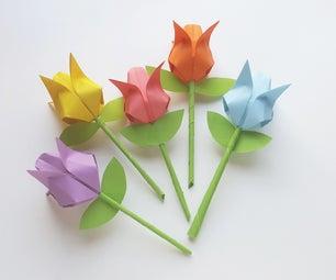 Origami Tulips