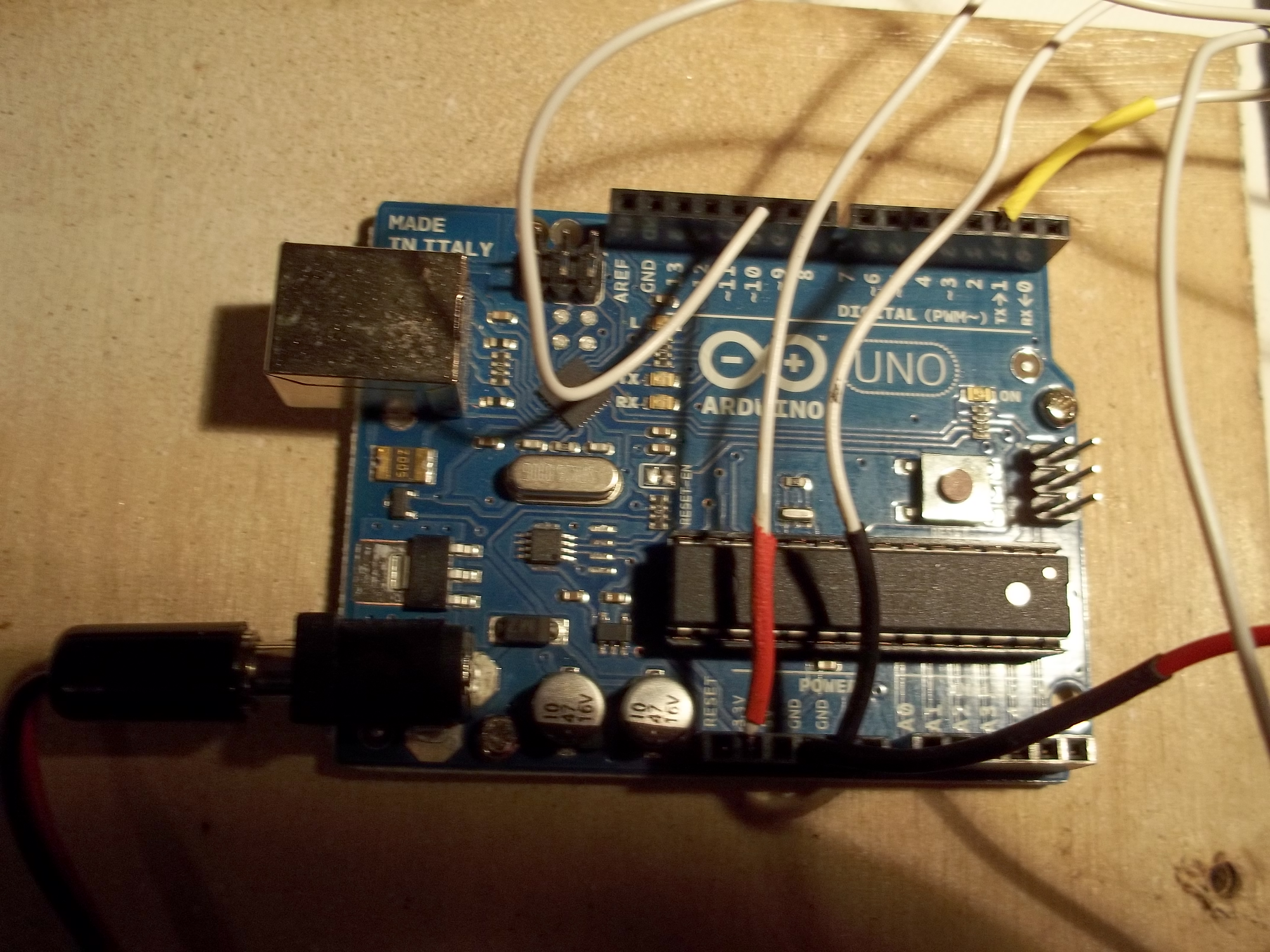 Picture of Attach the PIR Sensor: