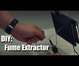 DIY - Fume Exctractor / Soldering Smoke Absorber