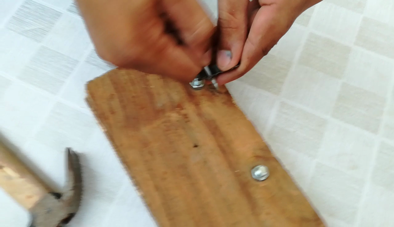 Picture of BENDING and ATTACHING the Reflex-dot.(The Rail Attacher and the LED Holder)