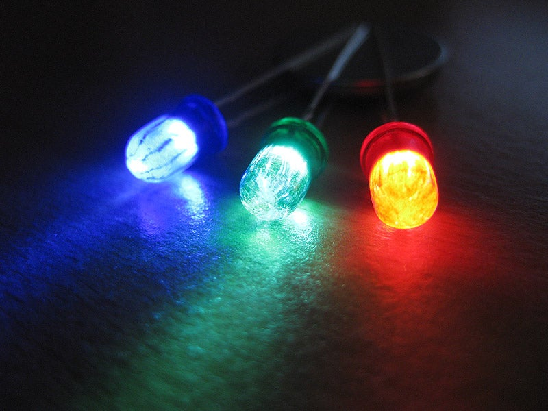 Make Your Own Colored Leds 4 Steps With Pictures Instructables