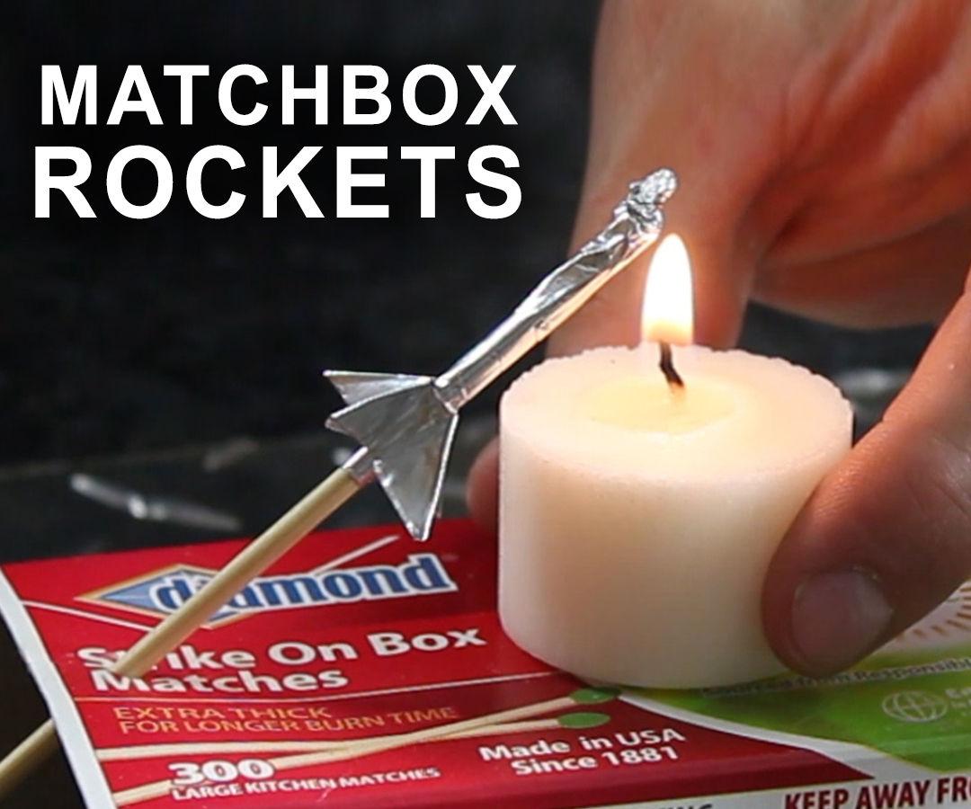 How to Make a Matchbox Rocket Launching Kit