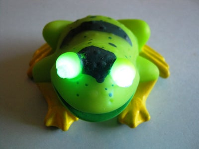 The Marvelous LED HypnoFrog