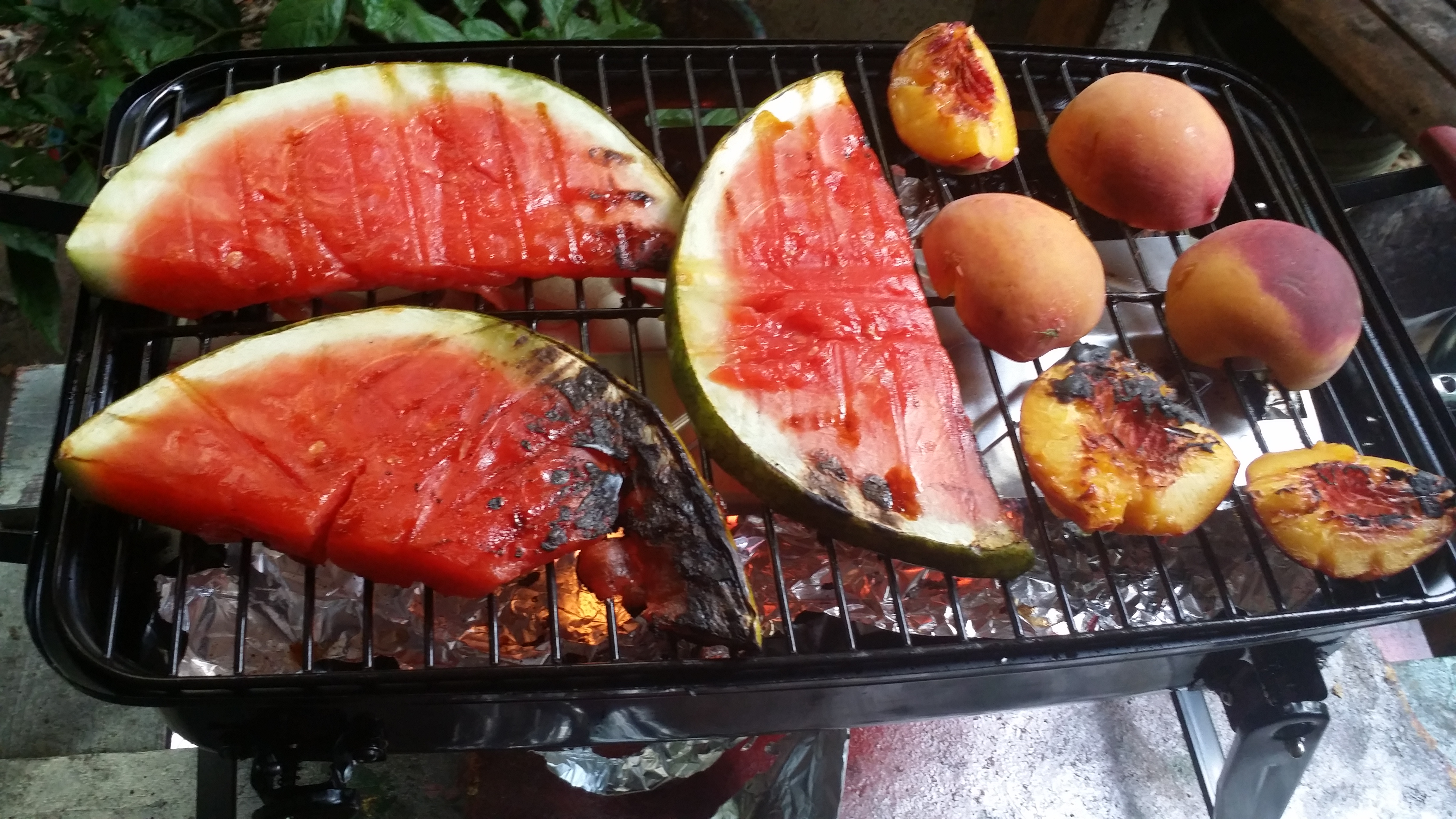 Picture of Grilling the Watermelon