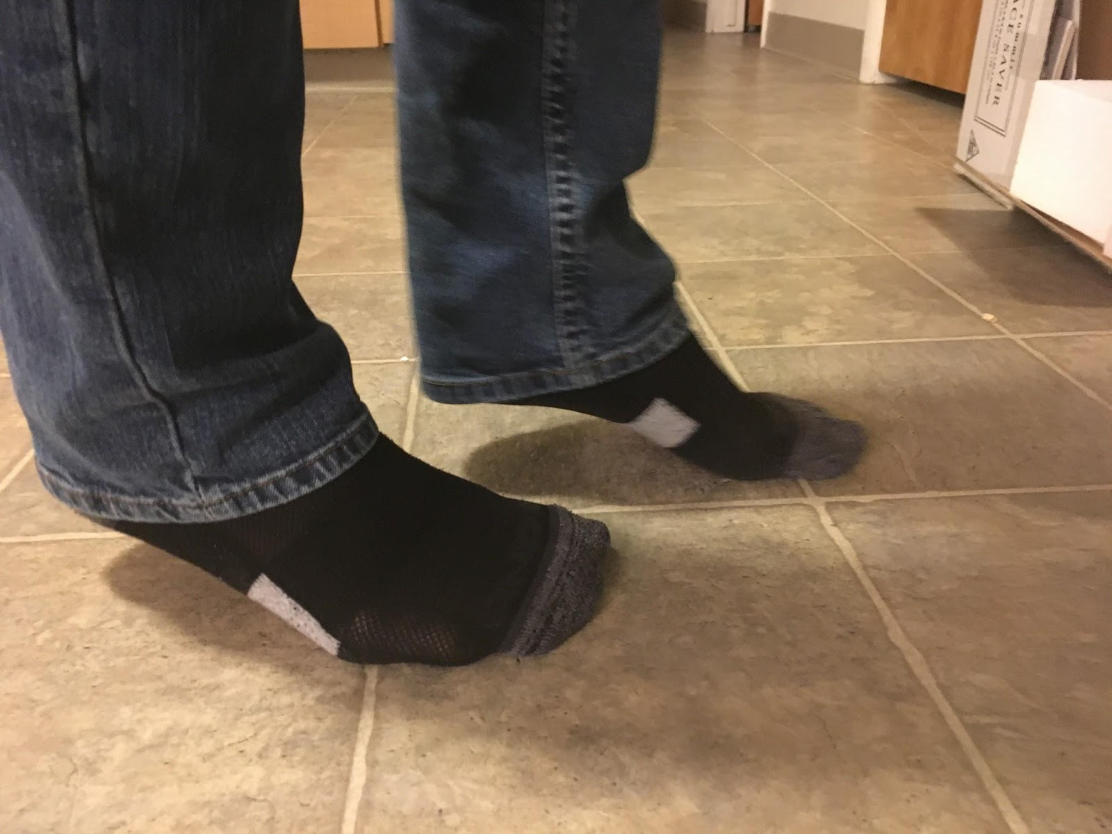Picture of Dropping Right Heel