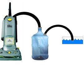 Vacuum to Wet-Vac