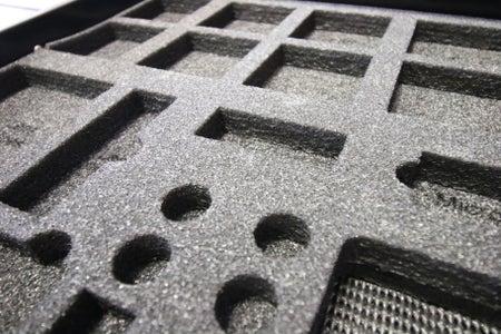 Custom Foam Inserts   Laser Cut Foam