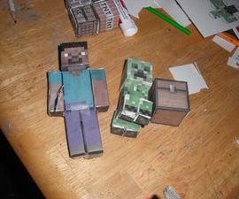 Minecraft play scene