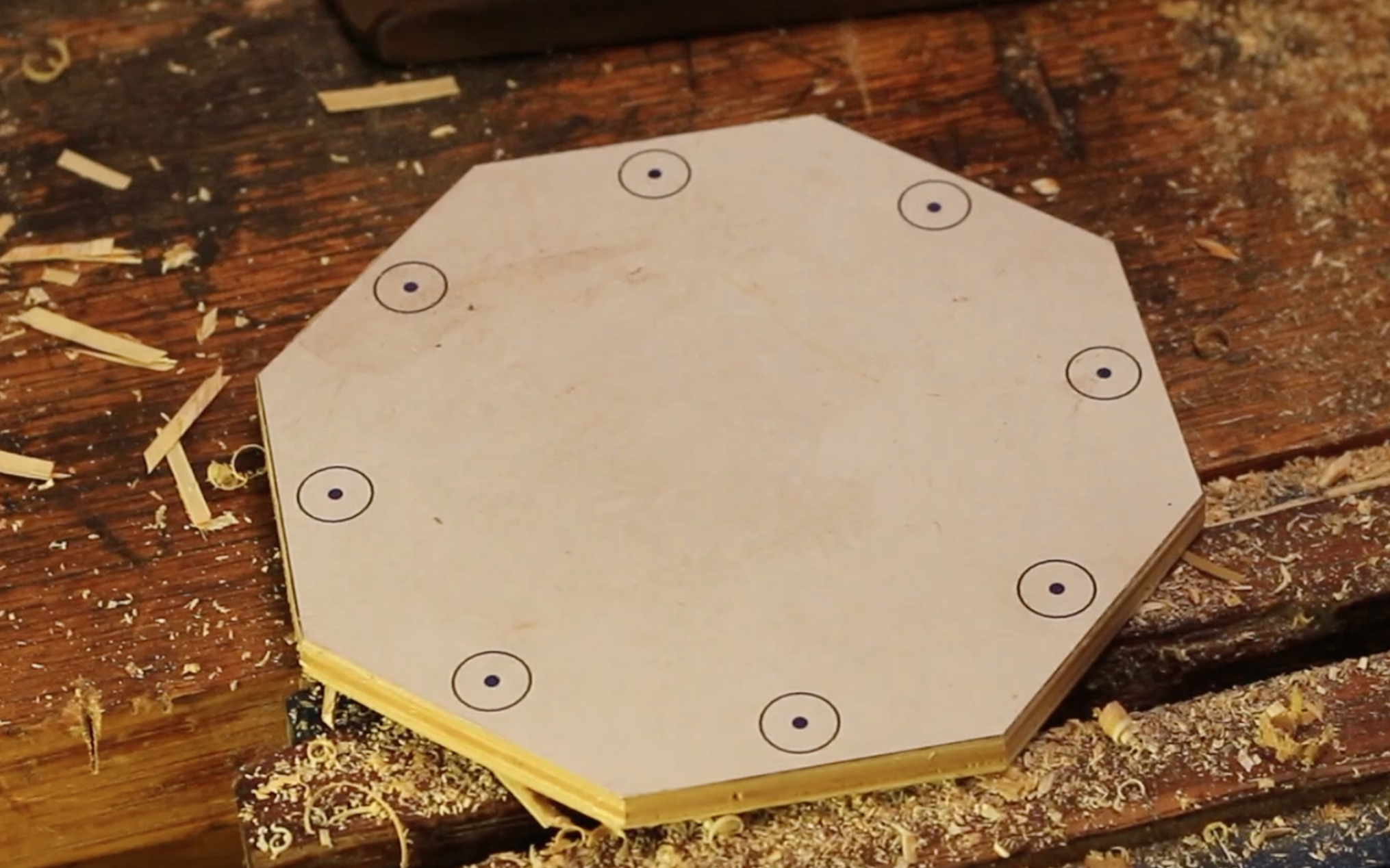 Picture of Cutting Out the Octagon Part