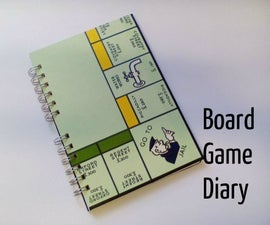 Monopoly Board Game Diary