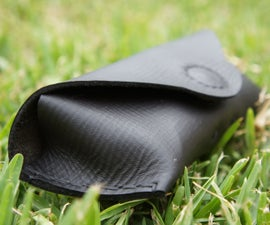 Easy-peasy Leather Sunglasses Pouch!