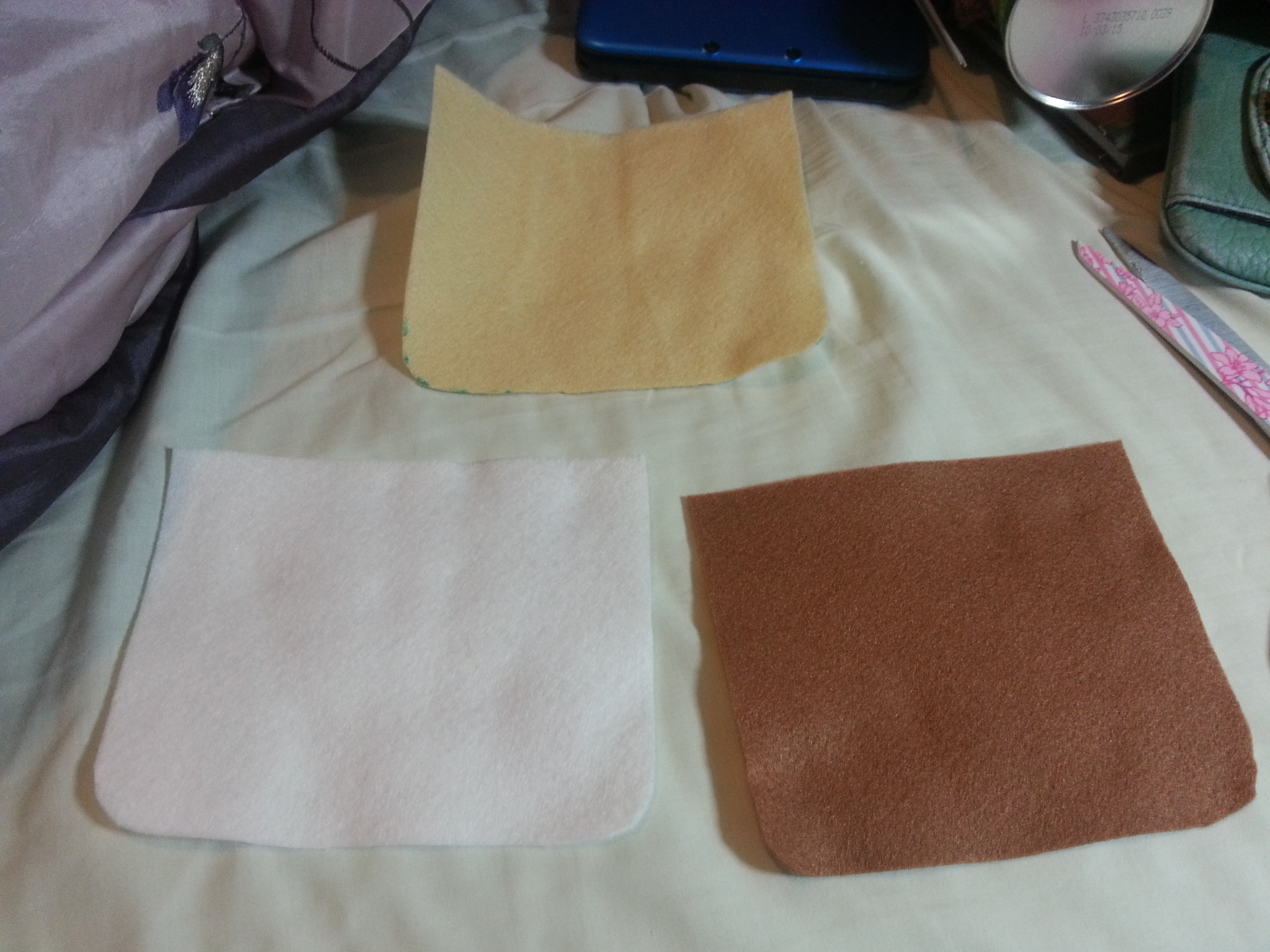 Picture of You Will Need, Template and Cutting the Main Pieces