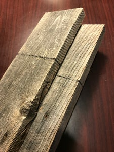 THE FOUNDATION: Marking and Cutting Your Wood Planks