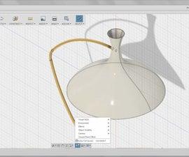 Model the Lamp Arm