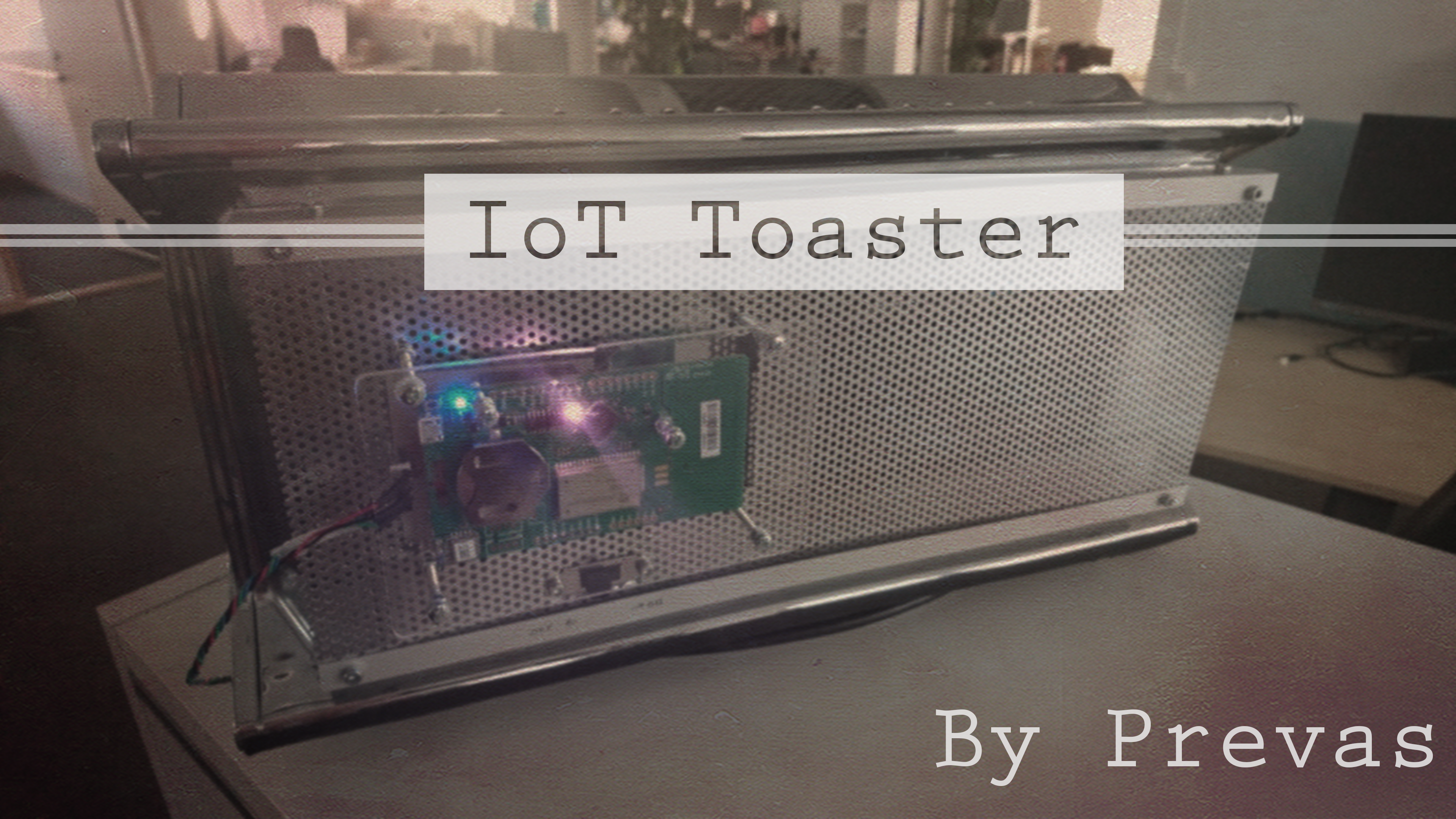 Picture of IoT Toaster (LoRa)